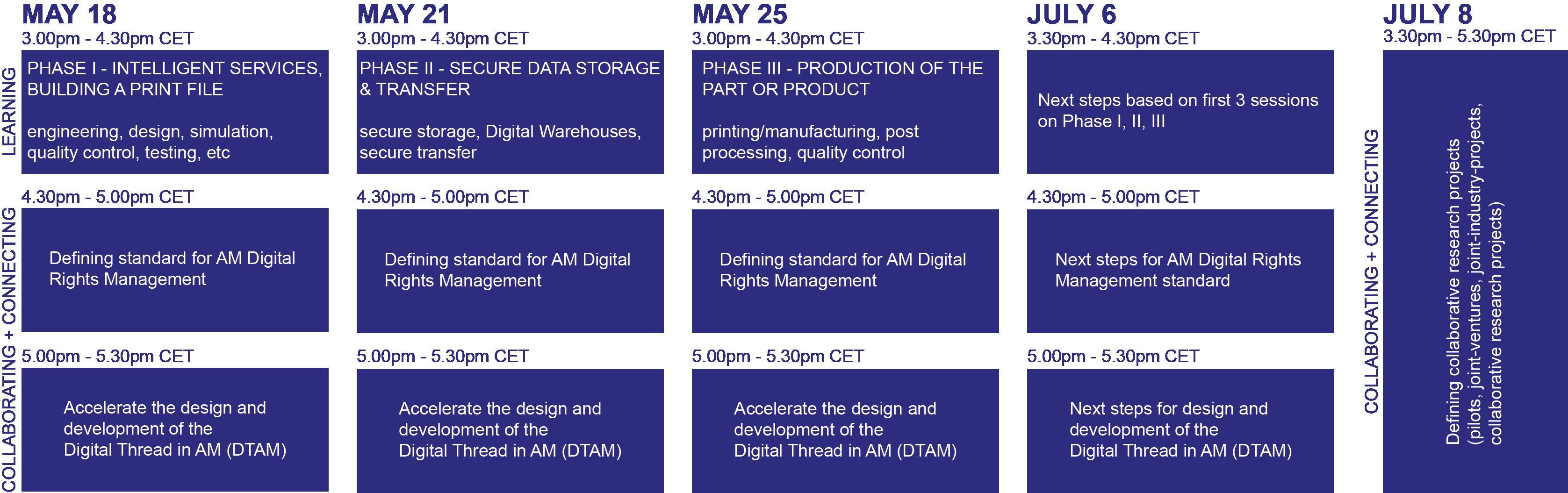 SDAM_programme